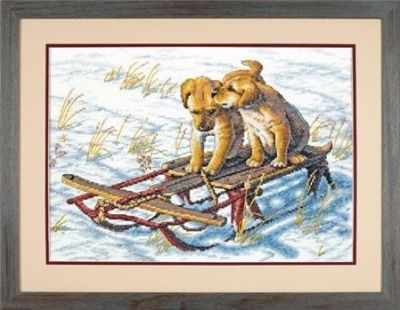 8852-DMS Sled Dogs