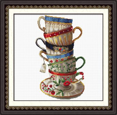 """100108 """"A set of coffee cups"""" (DOME)"""