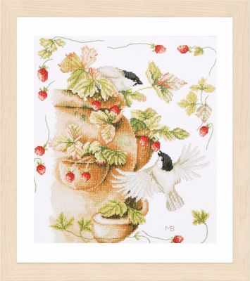 PN-0168599 Strawberries and Birds (Lanarte)
