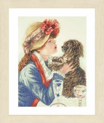 PN-0168607 Girl and Dog