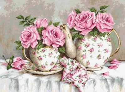 G568 Morning Tea and Roses