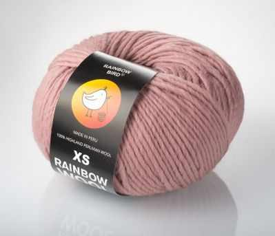 Пряжа RAINBOW BIRD XS RAINBOW WOOL Цвет.Lipstick