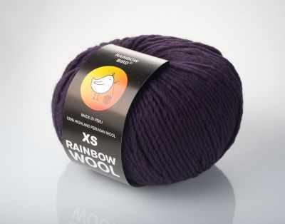Пряжа RAINBOW BIRD XS RAINBOW WOOL Цвет.Grape