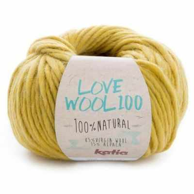 Пряжа Katia Love Wool Цвет.1098.208 липа