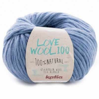 Пряжа Katia Love Wool Цвет.1098.214