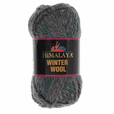 Пряжа Himalaya  Winter wool Цвет.20 зел.бир.мор.волна