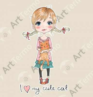 009 - I love my cute cat