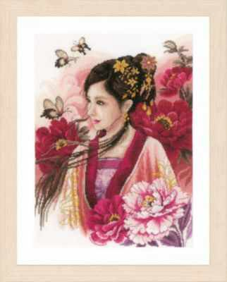 PN-0170199 Asian lady in pink (Lanarte)