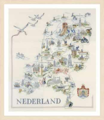 PN-0175289 Map of Holland (Vervaco)
