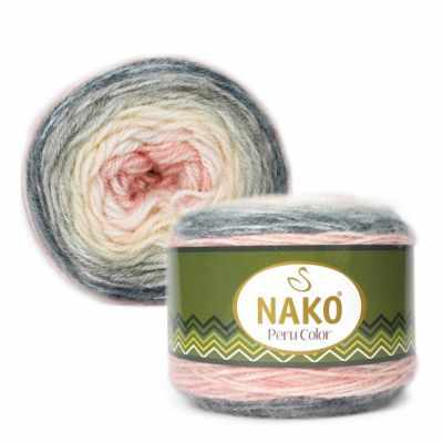 Пряжа Nako PERU COLOR Цвет.32183