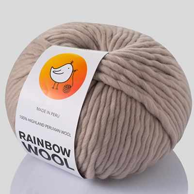 Пряжа RAINBOW BIRD RAINBOW WOOL Цвет.Nude