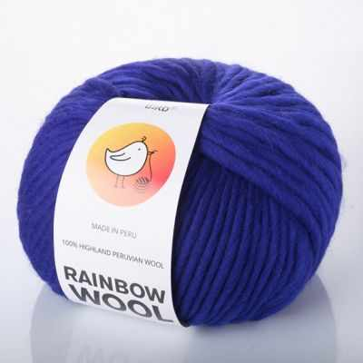 Пряжа RAINBOW BIRD RAINBOW WOOL Цвет.Amparo