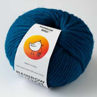 Пряжа RAINBOW BIRD RAINBOW WOOL Цвет.Imperial