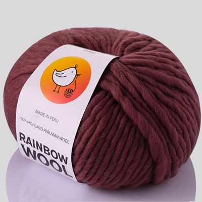Пряжа RAINBOW BIRD RAINBOW WOOL Цвет.Rouge