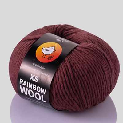 Пряжа RAINBOW BIRD XS RAINBOW WOOL Цвет.Rouge