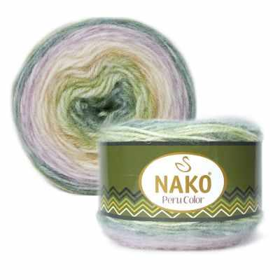 Пряжа Nako PERU COLOR Цвет.32185