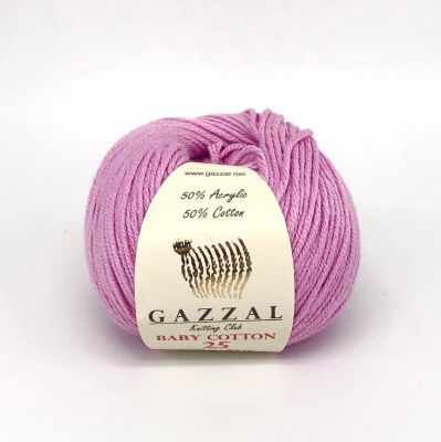 Пряжа GAZZAL Baby Cotton 25 Цвет.3422