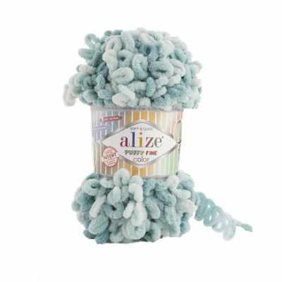 Пряжа Alize PUFFY FINE COLOR Цвет.6064